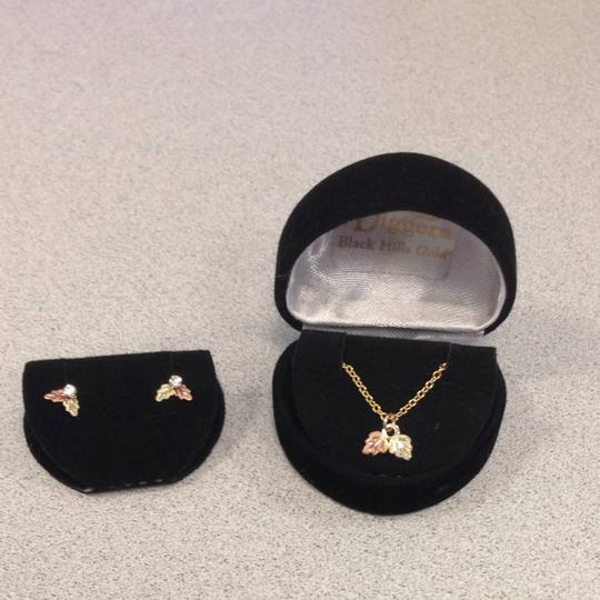 black hills gold jewelry Necklace And Earrings Set