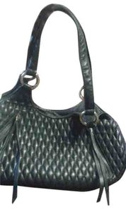 Eric Javits Satchel in black woven leather