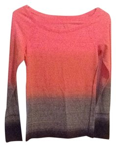 American Eagle Outfitters T Shirt Grey, Salmon And Pink