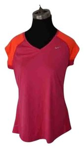 Nike Top Fuschia And Orange