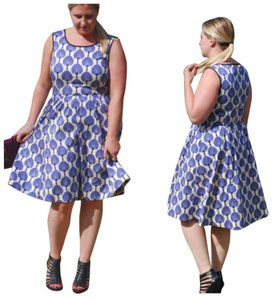 Kate Spade short dress Black white and blue on Tradesy