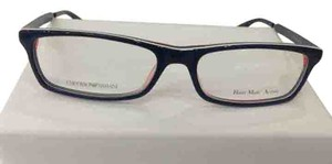 Emporio Armani New Emporio Armani EA9770 Color O9Z BLUE/ORANGE Plastic Eyeglasses Frame Made In Italy