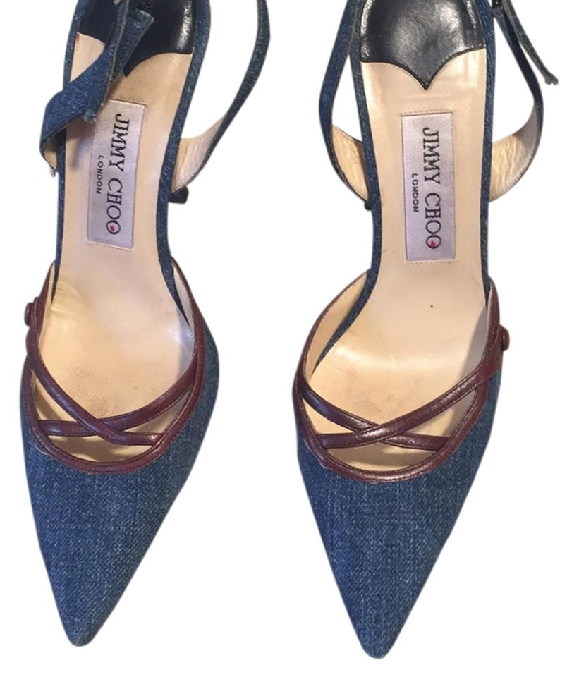 ladies Jimmy first Choo Denim Pumps Consumers first Jimmy ae7622
