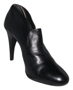 Rebecca Taylor Ankle Leather Black Boots