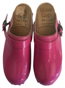 Olsson Clogs Pink Mules
