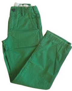 Gap Kids Size 10 Regular Fit Straight Pants green