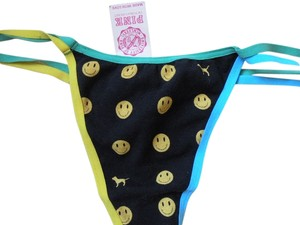 Victoria's Secret Victorias Secret Panties NWT Happy Face & Logo VS dog