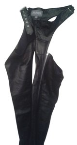Wilsons Leather Straight Pants black chaps