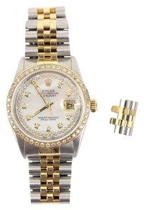 Rolex MRXSL01 36MM DATEJUST w/ Diamond Bezel 54ROL826