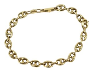 14k,Gold,Anchor-Chain,Bracelet