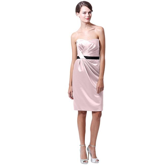 Item - Blush Satin Bm15-12 Formal Bridesmaid/Mob Dress Size 10 (M)