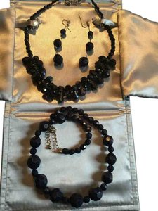 Three piece onyx shimmer set. Absolutely beautiful.