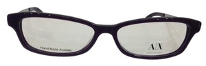 A|X Armani Exchange Armani Exchange AX239 Color AY2 Purple Plastic Eyeglasses Frame 52mm 14mm 135mm