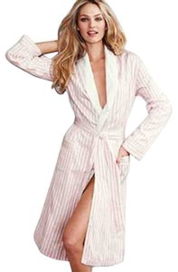 Victoria's Secret Vs Stripe Cotton Robe Dress