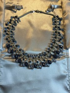Avon 2 pc. Multi-beaded elegant, retired statement piece.