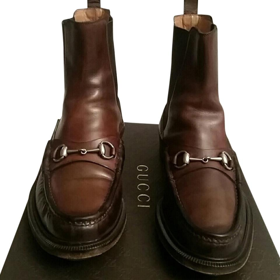 6a2701adf2fa98 Gucci Betis Glamour Collection Boots Booties Size US 11 - Tradesy