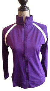 Ladies Spandex Jacket Purple