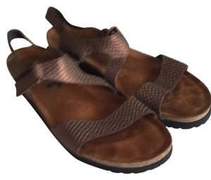 Naot Bronze Wedges