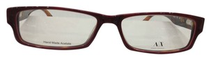 A|X Armani Exchange Armani Exchange AX140 Color Y0O Red Havana Plastic Eyeglasses Frame 53mm 15mm 140mm NEW