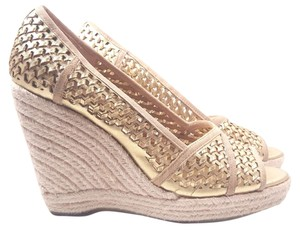 Juicy Couture Kinder Gold Wedges