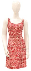 Marc Jacobs short dress Pink, Cream Collection Runway Abstract Print Printed on Tradesy