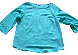 Everly Top Mint Green