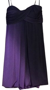 Joanna Chen short dress Purple Ombre on Tradesy