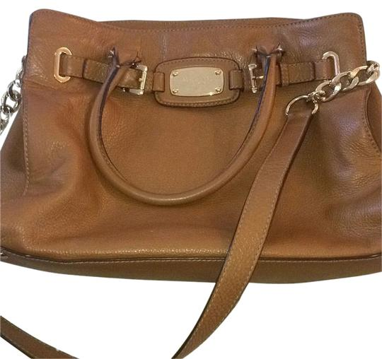 Preload https://item2.tradesy.com/images/michael-kors-brown-leather-satchel-11081971-0-3.jpg?width=440&height=440