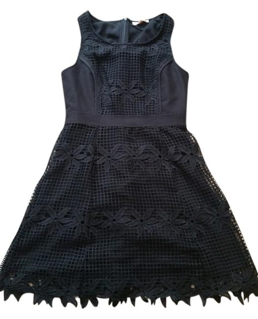 Skies Are Blue Floral Lbd Wedding A-line Lace Netting Dress