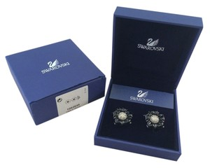 Swarovski Melissa Jet Clip Earrings SWAROVSKI 1062649