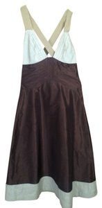 Catherine Malandrino short dress dark brown on Tradesy
