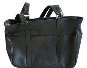 Structured Shape Tote in Black