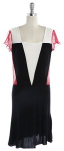 Emporio Armani short dress Red, white, black on Tradesy