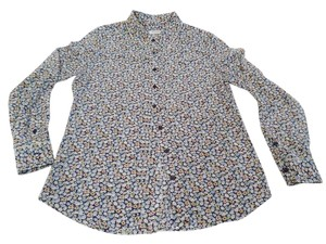 Equipment Silk Shirt Button Down Shirt Floral Print