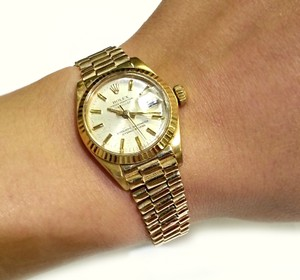 Rolex Rolex Ladies Datejust President 18 karat Solid Yellow Gold
