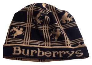 Burberry AUTHENTIC BURBERRY OF LONDON CASHMERE BEANIE HAT