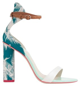 J.Crew Nicole Block Heel Spring Wedding Sophia Webster Multi Sandals