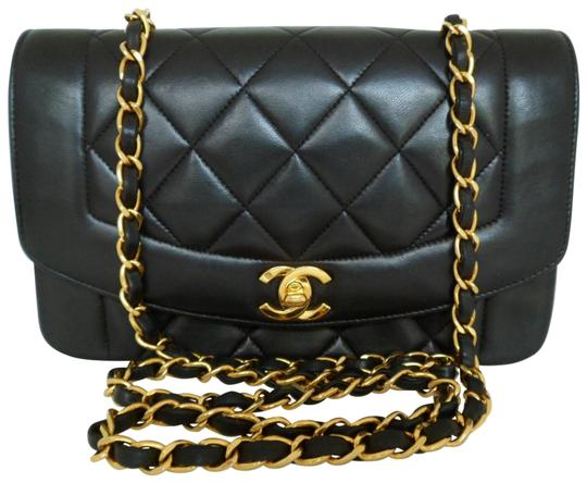 Preload https://item3.tradesy.com/images/chanel-classic-flap-dianna-matelasse-quilted-black-lambskin-leather-cross-body-bag-11083642-0-5.jpg?width=440&height=440