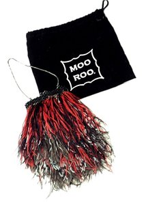 Moo Roo Satchel in red, black