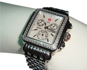 Michele Michele Signature Deco Diamond Chronograph *priced to sell*