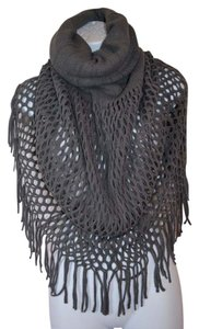 Other Infinity Scarf Tassel Gray
