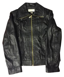 Michael Kors Blac Leather Jacket