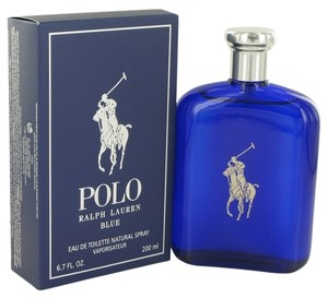 Ralph Lauren Polo Blue By Ralph Lauren Eau De Toilette Spray 6.7 Oz/200ml, Brand New.