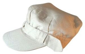 Other Natural Linen Cap