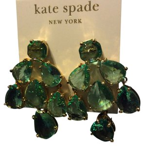 Kate Spade kate spade emerald earrings
