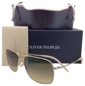 Oliver Peoples OLIVER PEOPLES PHOTOCHROMIC Sunglasses CLIFTON OV 1150-S 5035/85 Gold Frame w/ Olive Gradient Lenses