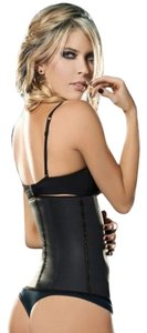 Ann Chery Ann Chery 2025 Women's Latex Corset Girdle Body Shaper Black Size 34 NWT