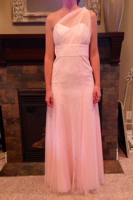 Wtoo Bobbinet Fabric Pink New With Tags Bridesmaid Formal Dress