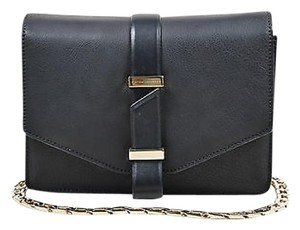 Victoria Beckham Leather Mini Chain Satchel Shoulder Bag