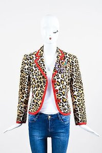 Moschino Cheap Chic Beige Multi-Color Jacket